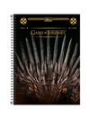 Caderno - 10 Matérias - Game Of Thrones - 160 Fls - Tilibra