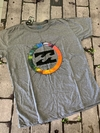 Camiseta Billabong cinza claro