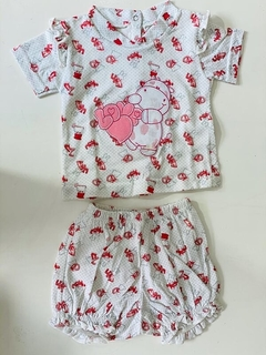 Set 2 Piezas - Bata Dino Love Y Short (000000000000178)