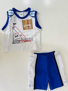 Set 2 Piezas - Remera Nautic Regata Y Short (000000000000216)