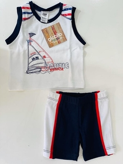 Set 2 Piezas - Remera Nautic Regata Y Short (000000000000216) - comprar online