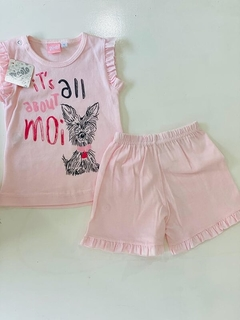 Set 2 Piezas - Remera Y Short  It´s All About Moi (000000000000047)