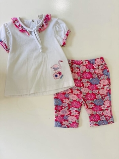 Set 2 Piezas - Remera Y Calza Flamenco (000000000000056)