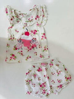 Set 2 Piezas - Remera Y Short Muffin (000000000000206) - comprar online