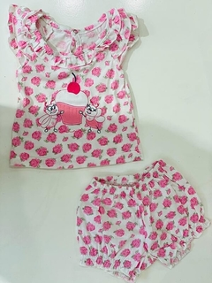Set 2 Piezas - Remera Y Short Muffin (000000000000206)