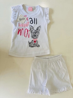 Set 2 Piezas - Remera Y Short  It´s All About Moi (000000000000047) - comprar online