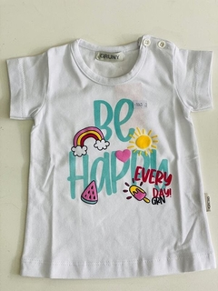 Remera Be Happy Every Day (000000000000683)