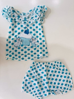 Set 2 Piezas - Remera Y Short Muffin (000000000000206) en internet