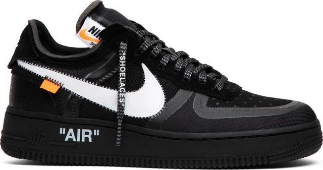 ofrecer descuentos 2019 mejor Amazonas Nike Air Force 1 Low X Off White - Preto