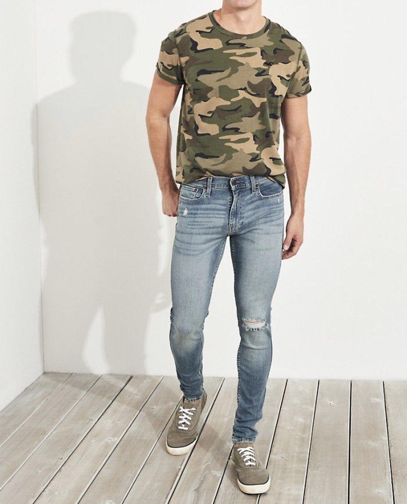 Hollister Super Skinny Jeans Tommy La Plata