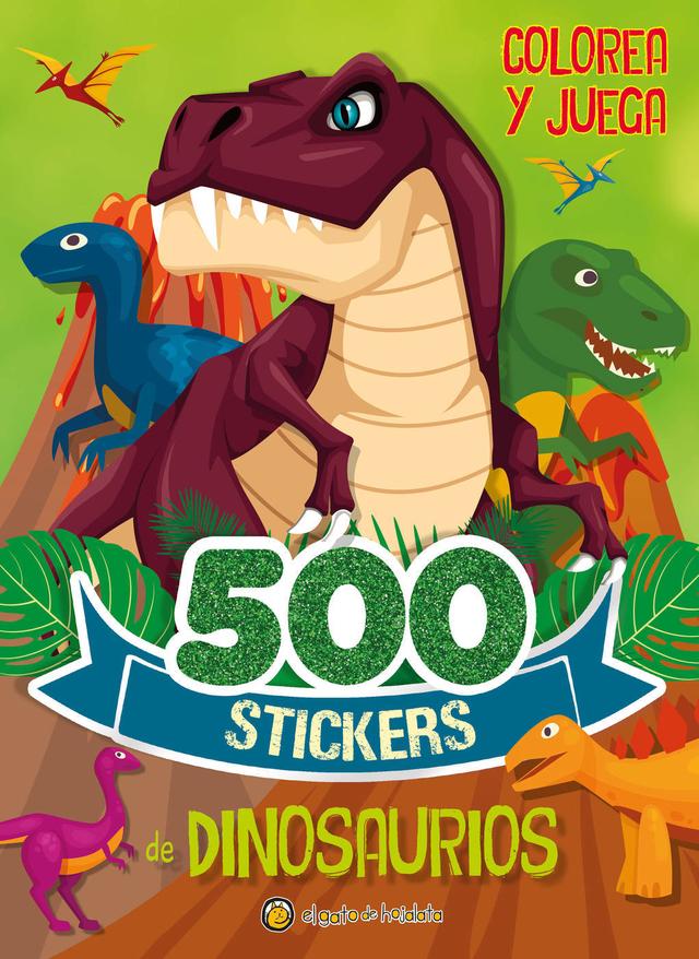 500 Stickers De Dinosaurios 500 Stickers De Unicornios Coleccion Colorea Y Juega Editorial El Gato De Hojalata El unicornio es una criatura mitológica representada habitualmente como un caballo blanco con patas de antílope, ojos y barba de chivo y un cuerno en la frente. 500 stickers de unicornios coleccion