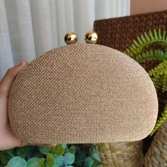 Clutch Nude Oval
