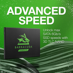 "Seagate BarraCuda 120 250GB SATA III 2.5"" Internal SSD - STOCK DISPONIBLE"