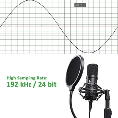 Kit de micrófono USB 192KHZ / 24BIT MAONO AU-A04T Condensador de PC Podcast Streaming - comprar online