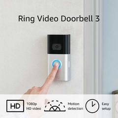 Ring Video Doorbell 3 Portero Inalambrico Wifi Ultimo Lanzamiento - comprar online