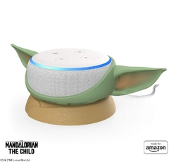 Yoda Mandalorian the child amazon echo dot tercera gen