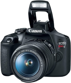 Canon Eos Rebel T7 Dslr Con Lentes 18-55mm Y 75-300mm + Kit + funda - STOCK DISPONIBLE - comprar online