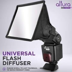 Difusor de luz para flash Softbox - Altura Photo - Medidas 15 x 12 cm - comprar online