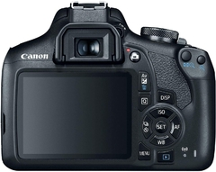 Canon Eos Rebel T7 Dslr Con Lentes 18-55mm Y 75-300mm + Kit + funda - STOCK DISPONIBLE en internet