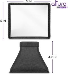 Difusor de luz para flash Softbox - Altura Photo - Medidas 15 x 12 cm en internet
