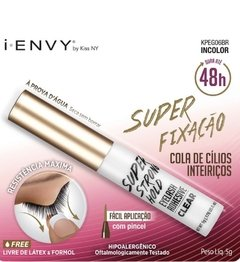 Cola para Cílios First kiss - I- Envy 48H 5g - the.luxo