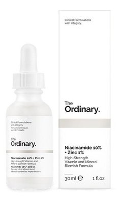 The Ordinary - Niacinamida 10% + zinc 1% 30ml