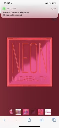 Neon Obsessions Palette - Neon Pink - the.luxo