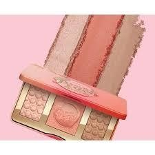Too faceed - Paleta Sweet Peach Glow - loja online