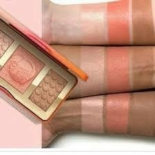 Too faceed - Paleta Sweet Peach Glow - comprar online