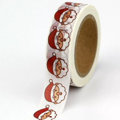 Washi tape papai noel