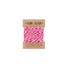 Twine cotton pink bicolor