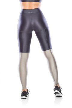 Legging Fitness Glam Perna - Grafite na internet