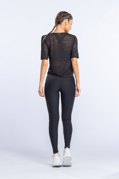 Blusa Air Soft Net - Noir Black - The Fit Brand