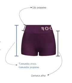 Shorts Push - Cross - The Fit Brand