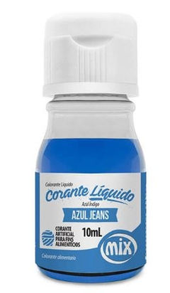 CORANTE LIQUIDO MIX 10ML AZUL JEANS