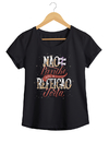 Camiseta Feminina By Bruno - Lettering 4  - Shop Cult na internet