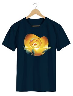 Camiseta Masculina Brum - Sunset Ocean - Flor do Sol - Shop Cult - comprar online
