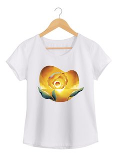 Camiseta  Feminina Brum - Sunset Ocean - Flor do Sol - Shop Cult na internet