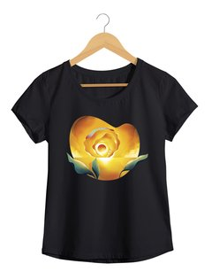 Camiseta  Feminina Brum - Sunset Ocean - Flor do Sol - Shop Cult