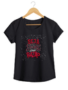 Camiseta Feminina By Bruno - Lettering 3  - Shop Cult