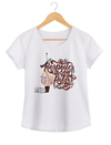 Camiseta Feminina By Bruno - Lettering 2  - Shop Cult