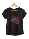Camiseta Feminina By Bruno - Lettering 2  - Shop Cult na internet
