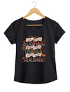 Camiseta Feminina By Bruno - Lettering 1  - Shop Cult na internet