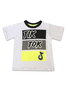 Remera TIKTOK Tricolor en internet