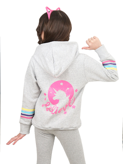 Campera Believe Multicolor Melange