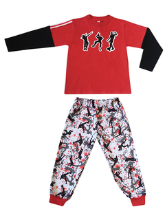 Pijama Fort NEW Micropolar Rojo
