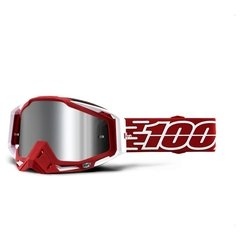 100% Racecraft Plus Goggles - Mirrored Lens - Outlet Motero