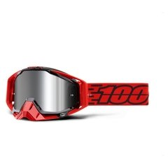 100% Racecraft Plus Goggles - Mirrored Lens