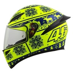 Agv K1 Winter Test 2015 en internet