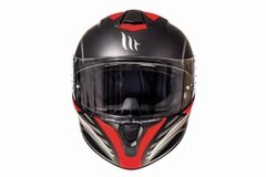 Casco Mt Targo Doppler + Mascara Antipolución - Outlet Motero